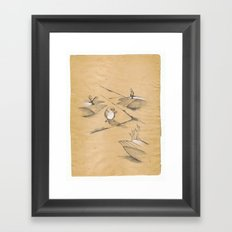 AND THEN THERE WAS NONE Framed Art Print
