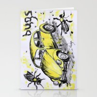 bugs Stationery Cards featuring bugs by sladja