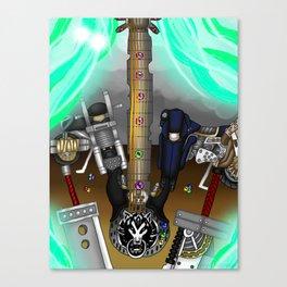 Fusion Keyblade Guitar #177 - Fenrir & Fenrir X Canvas Print