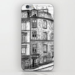 The old buildings of Paris, 1932 iPhone Skin