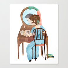 Jane Austen Canvas Print