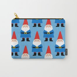 Gnome Repeat in Blue Carry-All Pouch