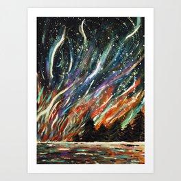 said the king to the river Art Print