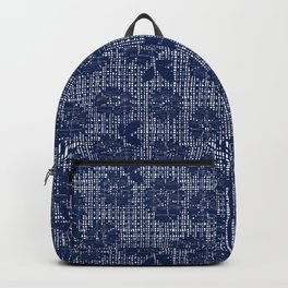 Floral Lace - Navy Backpack