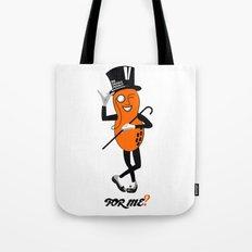 An Orange Peanut Tote Bag