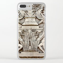 First National Facade Clear iPhone Case