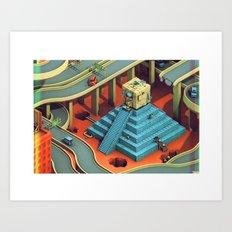 Culture Apparatus @ Exit 7 Art Print