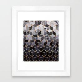 Daydream Cubes Framed Art Print