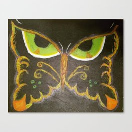 Scowl Fly Canvas Print