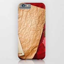 Pictures New year Paper Sheet of paper Mandarine C iPhone Case