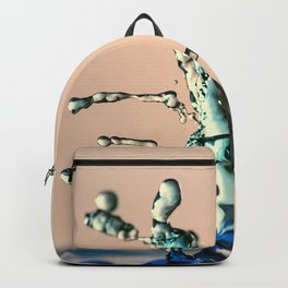 Water drops colliding Backpack