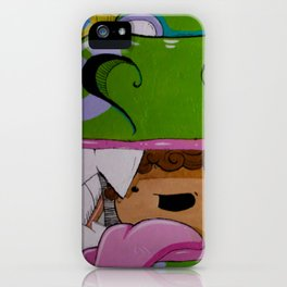 Dragon Boy iPhone Case