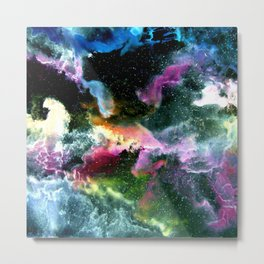 In Space Metal Print