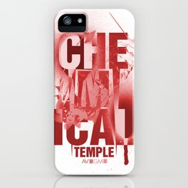 Chemical Temple/RED iPhone Case