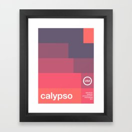 calypso single hop Framed Art Print
