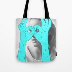 Peak-a-Boo Tote Bag