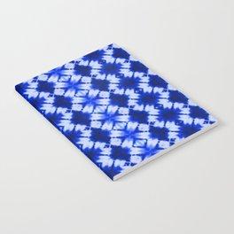 indigo shibori print Notebook