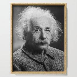Albert Einstein Serving Tray