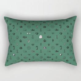House of the Cunning - Pattern II Rectangular Pillow