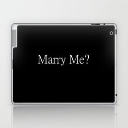 Marry Me? Proposal Tools Laptop & iPad Skin