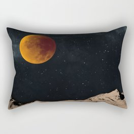 Bloodmoon Fantasy Rectangular Pillow
