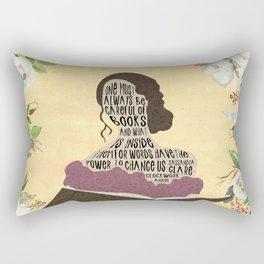 Tessa Gray - Clockwork Angel (new version) Rectangular Pillow