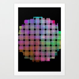 Weave#1 Art Print