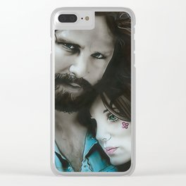 'Mr. Mojo Risin' And Pam' Clear iPhone Case
