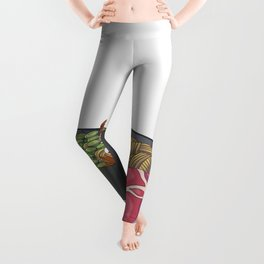 Ramen tortoise Leggings