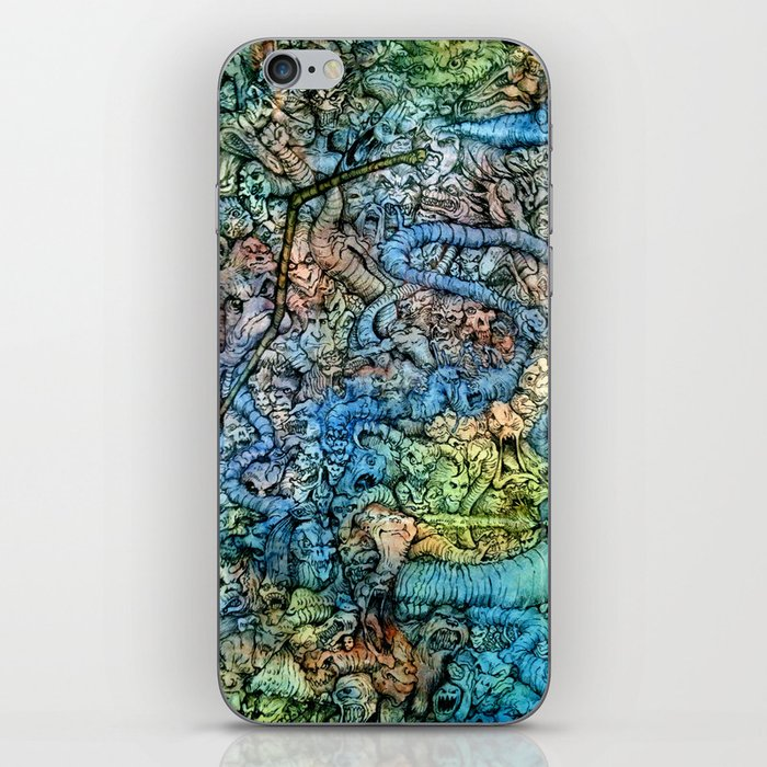 Autumn in Hell iPhone Skin