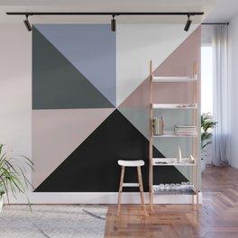 Geometrical pastel color modern color block Wall Mural