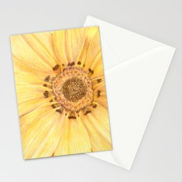 Yellow Flower #2 Stationery Cards
