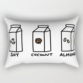 Soy Coconut Almond Rectangular Pillow