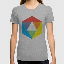 Color Wheel print, Color Chart Rainbow design by Christy Nyboer / Little Lark T-shirt