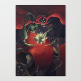 The Dreamteller of Nightmares Canvas Print