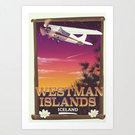 Westman Islands Iceland Art Print