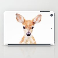 dear iPad Cases featuring Little Deer by Amy Hamilton