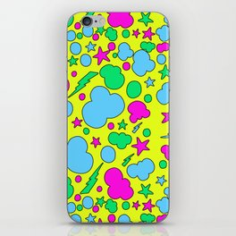 Candy chaotic storm iPhone Skin