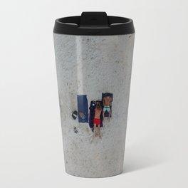 Aerial Beach Towels Travel Mug