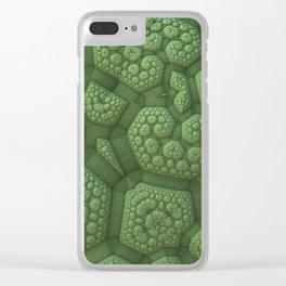 Dinosaur Skin Clear iPhone Case