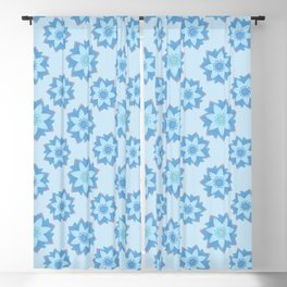 ENLIGHTENED Lotus Pattern Blackout Curtain