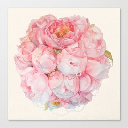 Tender bouquet Canvas Print