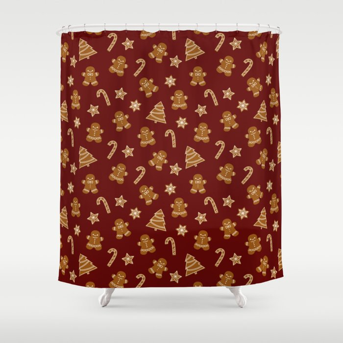 Gingerbread Shower Curtain By Showalter