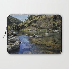 Deschutes River below Steelhead Falls Laptop Sleeve