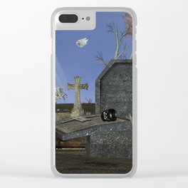 War Stars: Let's Shake The Spire Clear iPhone Case