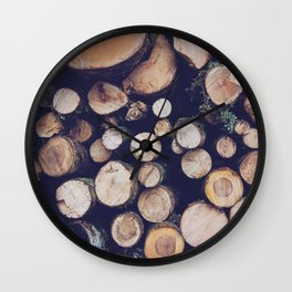 firewood no. 1 Wall Clock