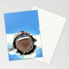 Around Tel Aviv Stereographic Panorama of Dizengoff Center Stationery Cards