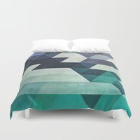 spires Duvet Covers featuring aqww hyx by Spires