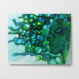 Water Nymph Metal Print