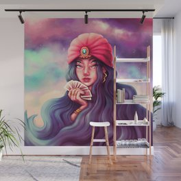 Cards Wall Mural